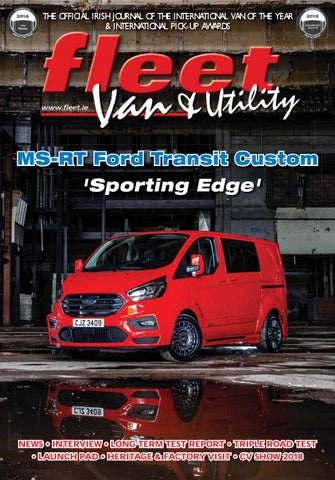27629a1361 THE OFFICIAL IRISH JOURNAL OF THE INTERNATIONAL VAN OF THE YEAR    INTERNATIONAL PICK-UP AWARDS