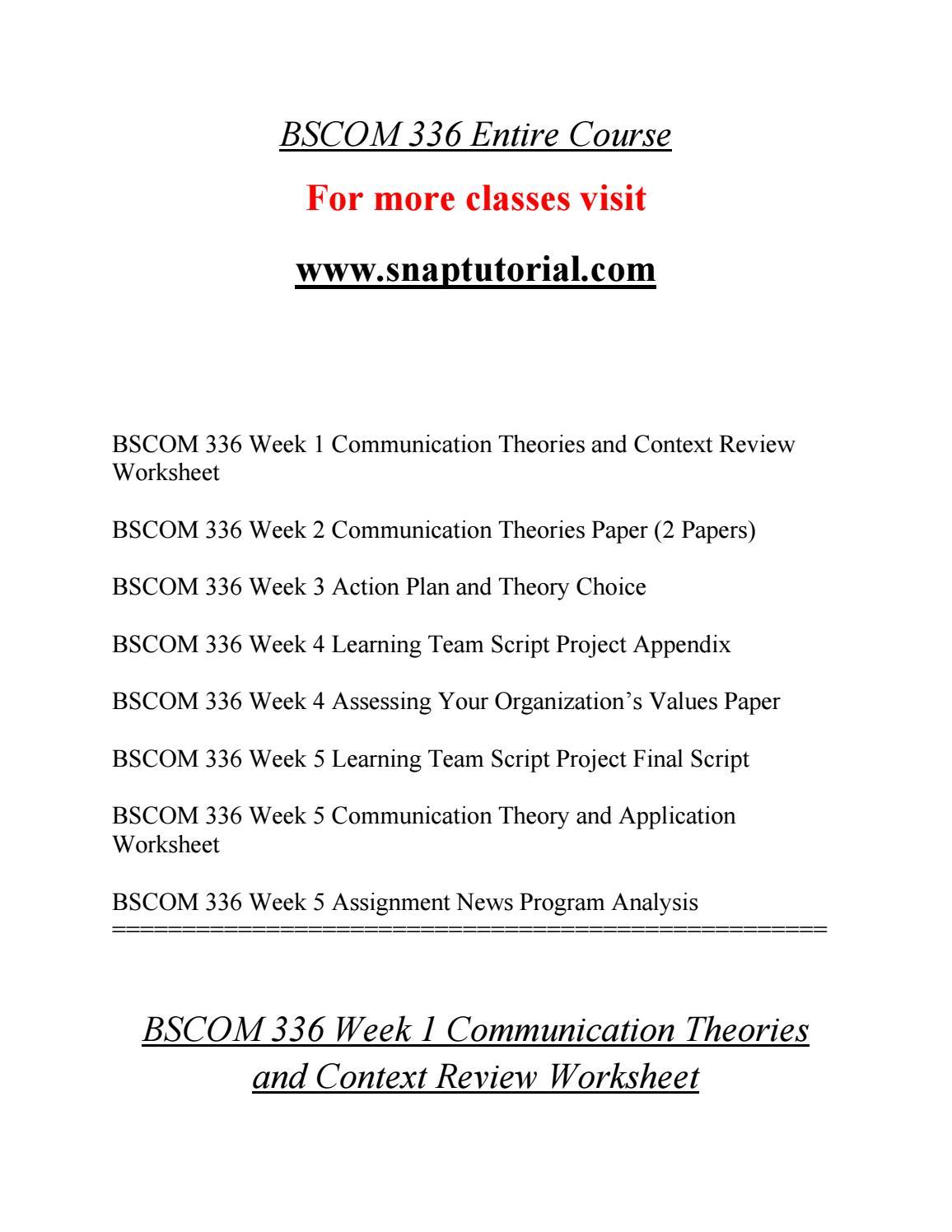 Bscom 336 Education Beginssnaptutorial By Arreaayah1