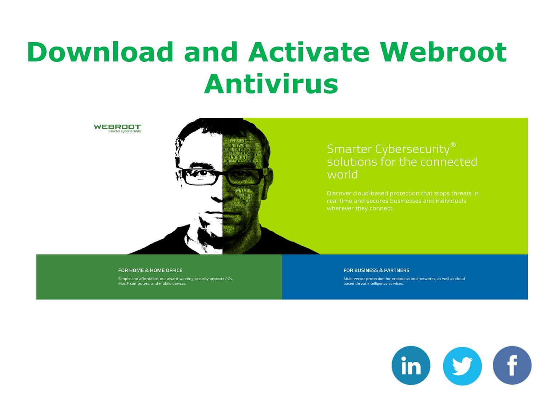 webroot antivirus download