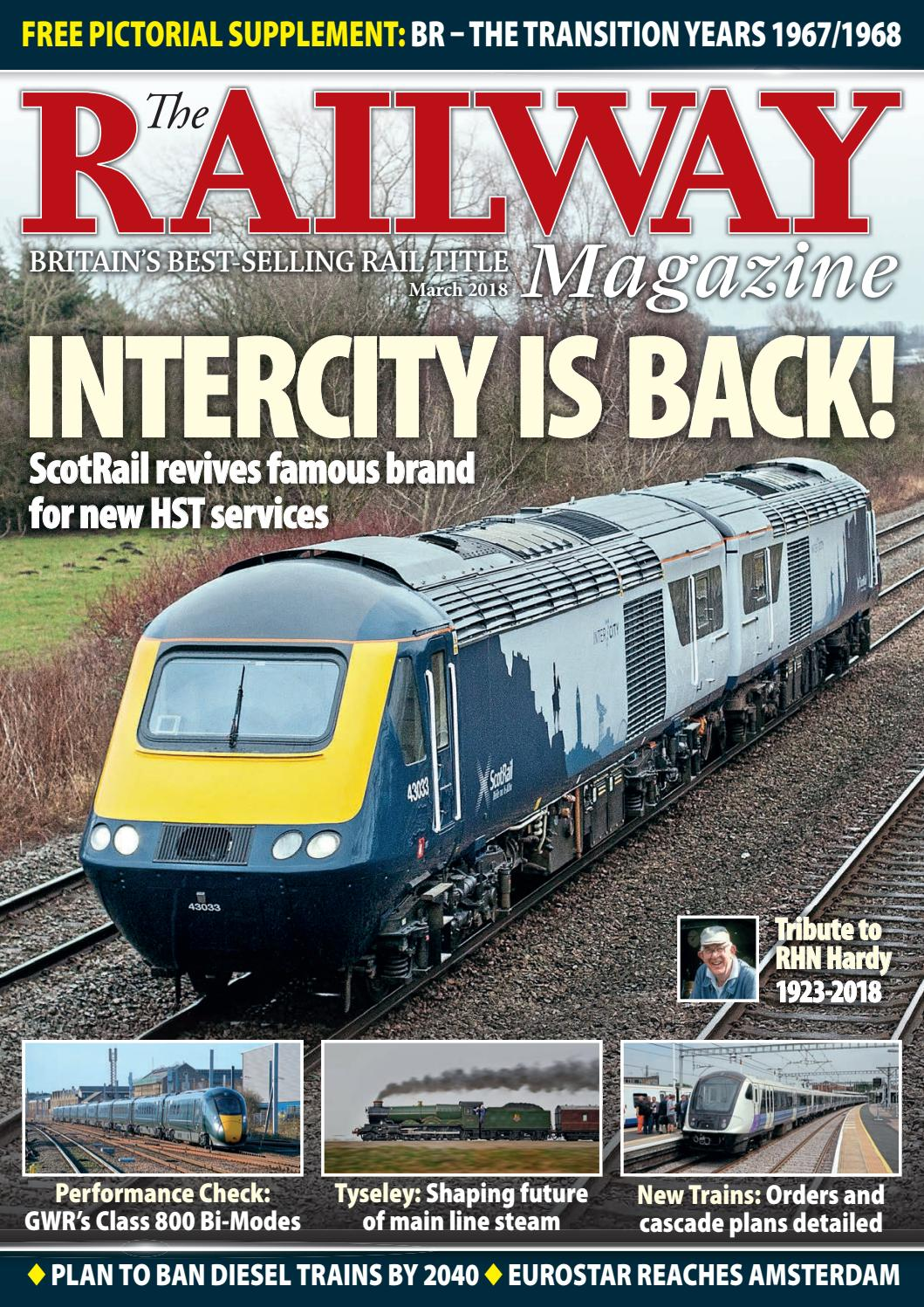 Railway Magazine March 2018 by Mortons Media Group Ltd - issuu