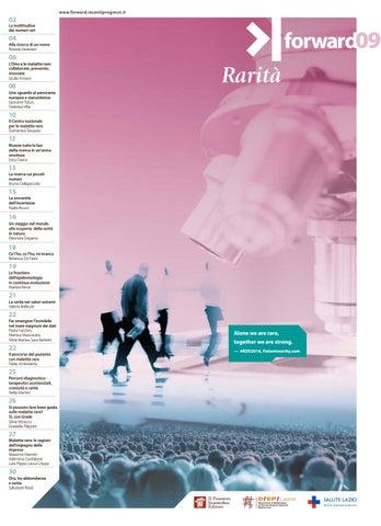 Forward Numero 09 2018 Rarità By Il Pensiero Scientifico Editore