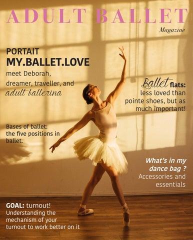 ef86cc2803f8 Adult Ballet Magazine n°2 by adultballetmagazine - issuu
