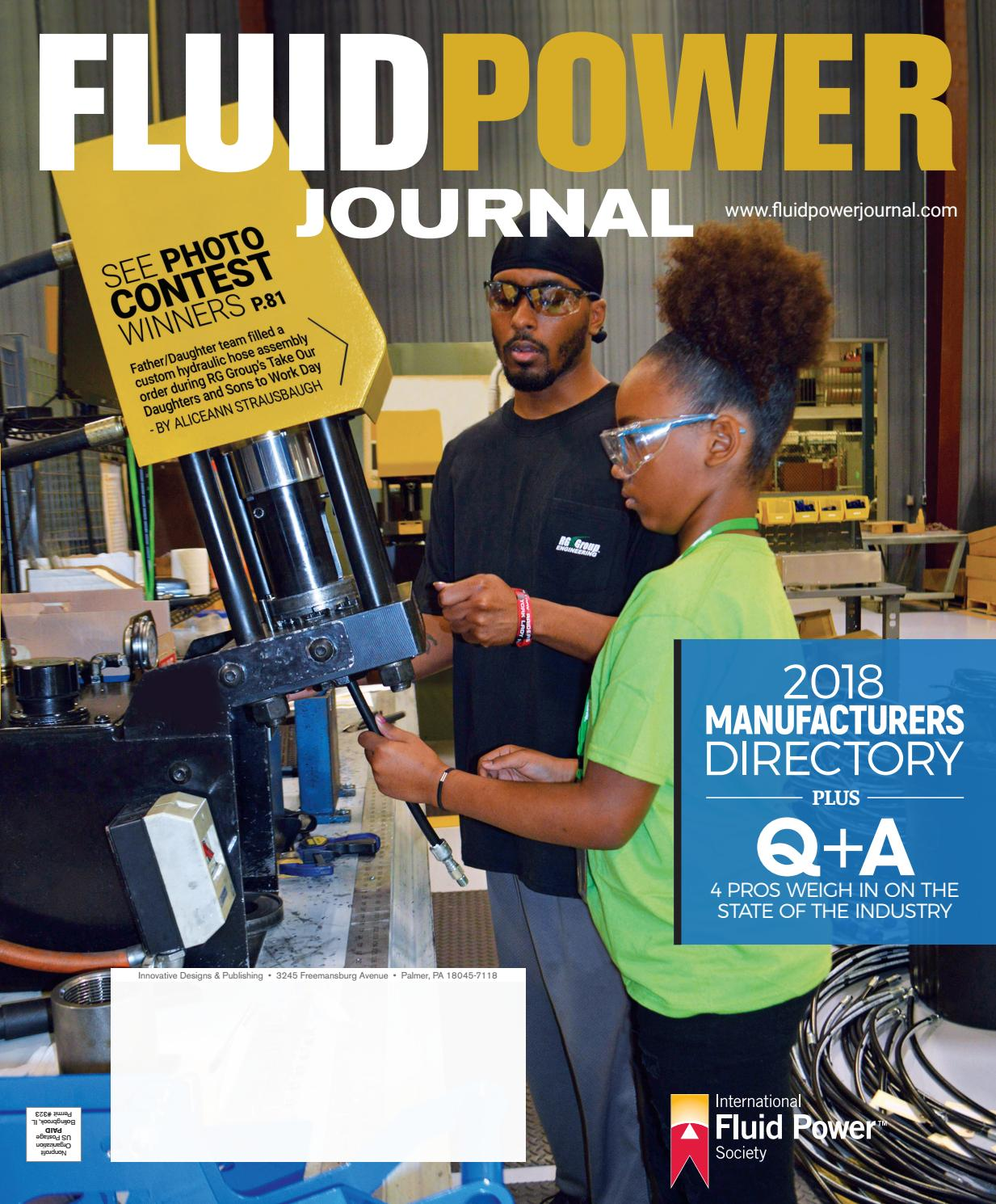 Fluid Power Journal Manufacturers Directory 2018 by