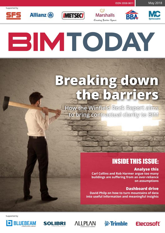 BIM Today (May 2018 Edition) by Iftikhar Ismail - BIMologist