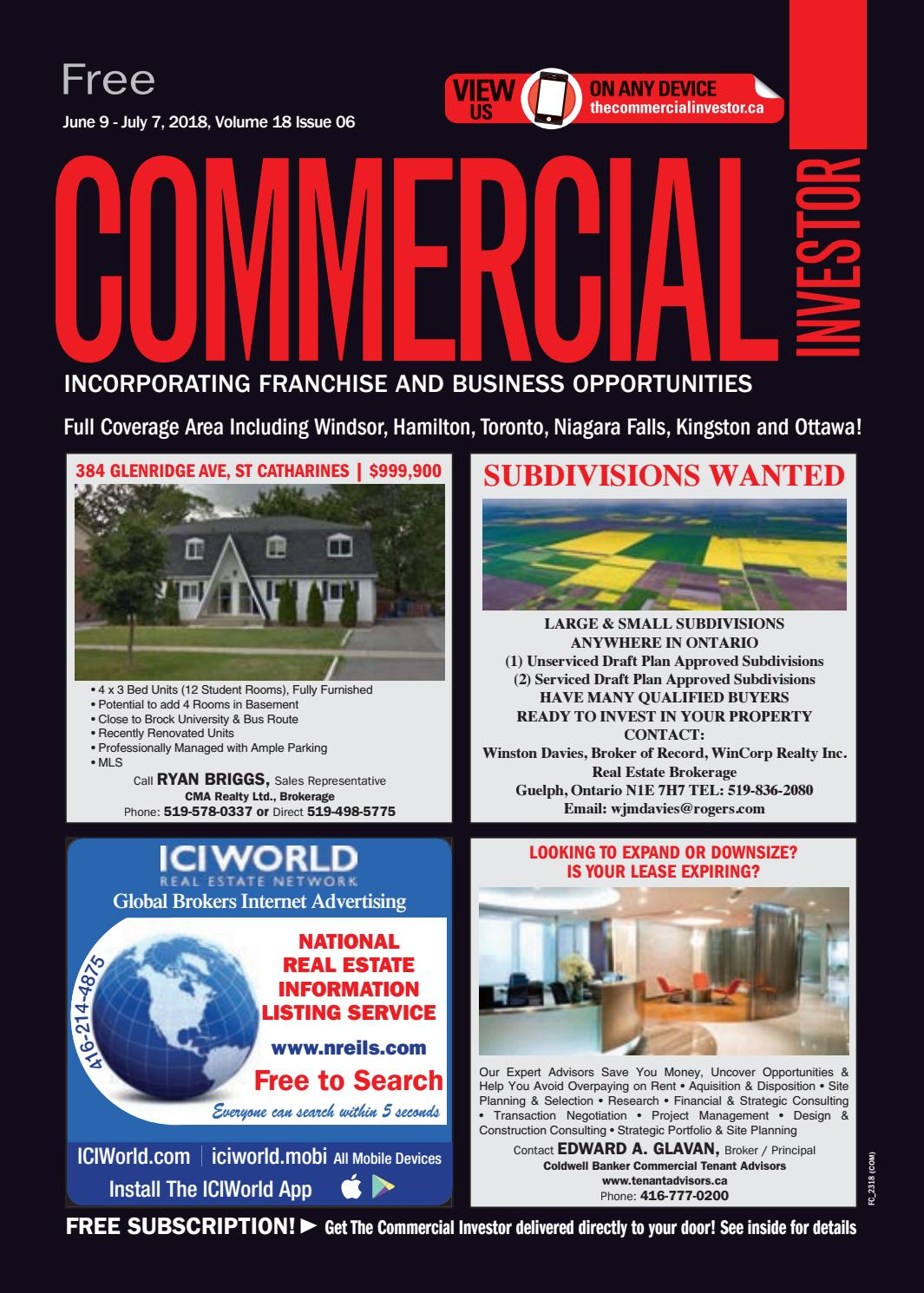 Groovy Commercial Investor 08 Jun 2018 By Nexthome Issuu Ibusinesslaw Wood Chair Design Ideas Ibusinesslaworg