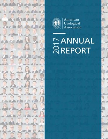 AUA 2017 Annual Report by American Urological Association