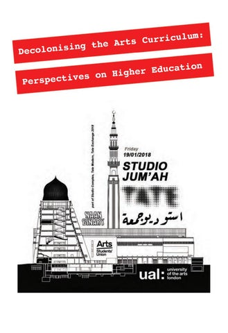 ce42f542 Decolonising the Arts Curriculum: Perspectives on Higher Education ...