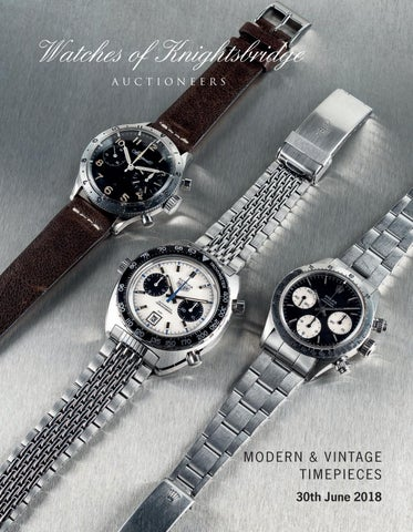 19907340823 Watches of Knightsbridge 30 June 2018 by Auction Technology Group ...