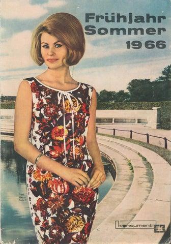 b2bfe8900598a2 konsument Versandhaus - Frühjahr/Sommer 1966 - Alter DDR Versandhauskatalog