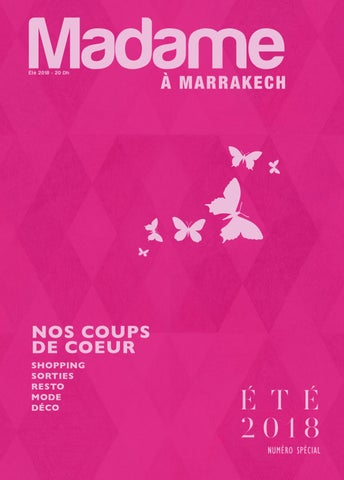 Madame 2018 Eté Marrakech À Issuu By XuPZik