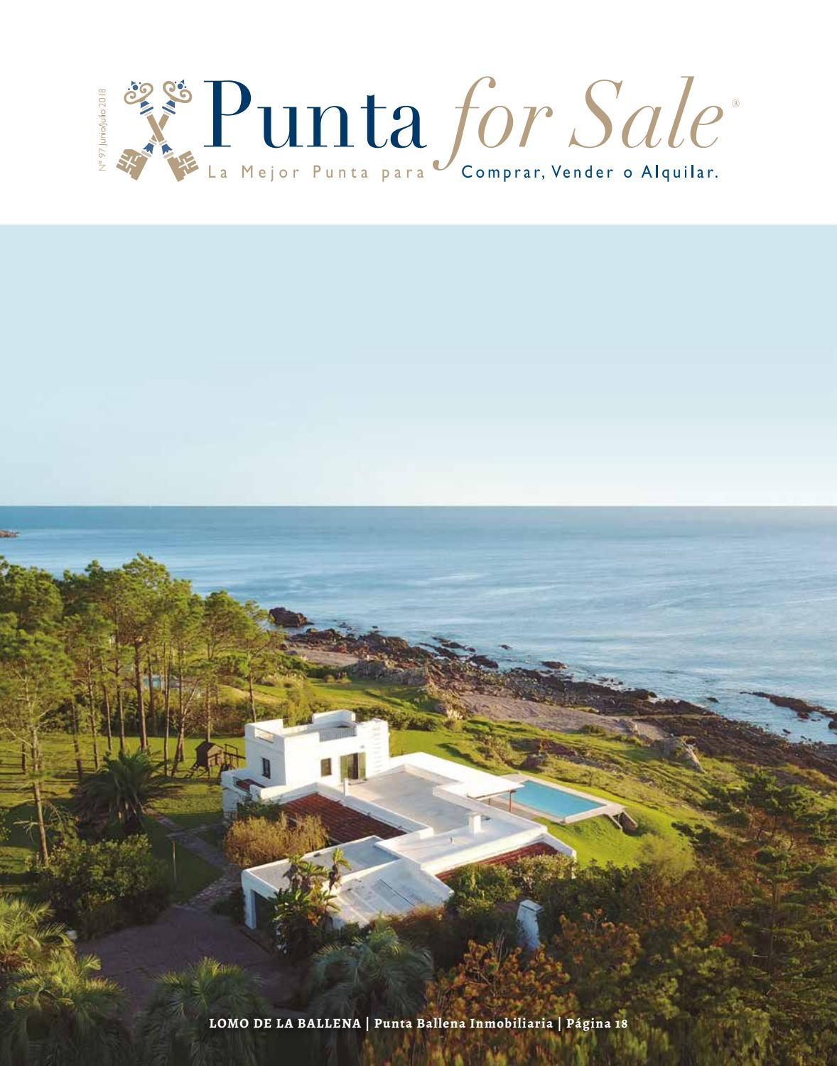 Revista de Real Estate Punta For Sale, edición #97 Junio/Julio 2018