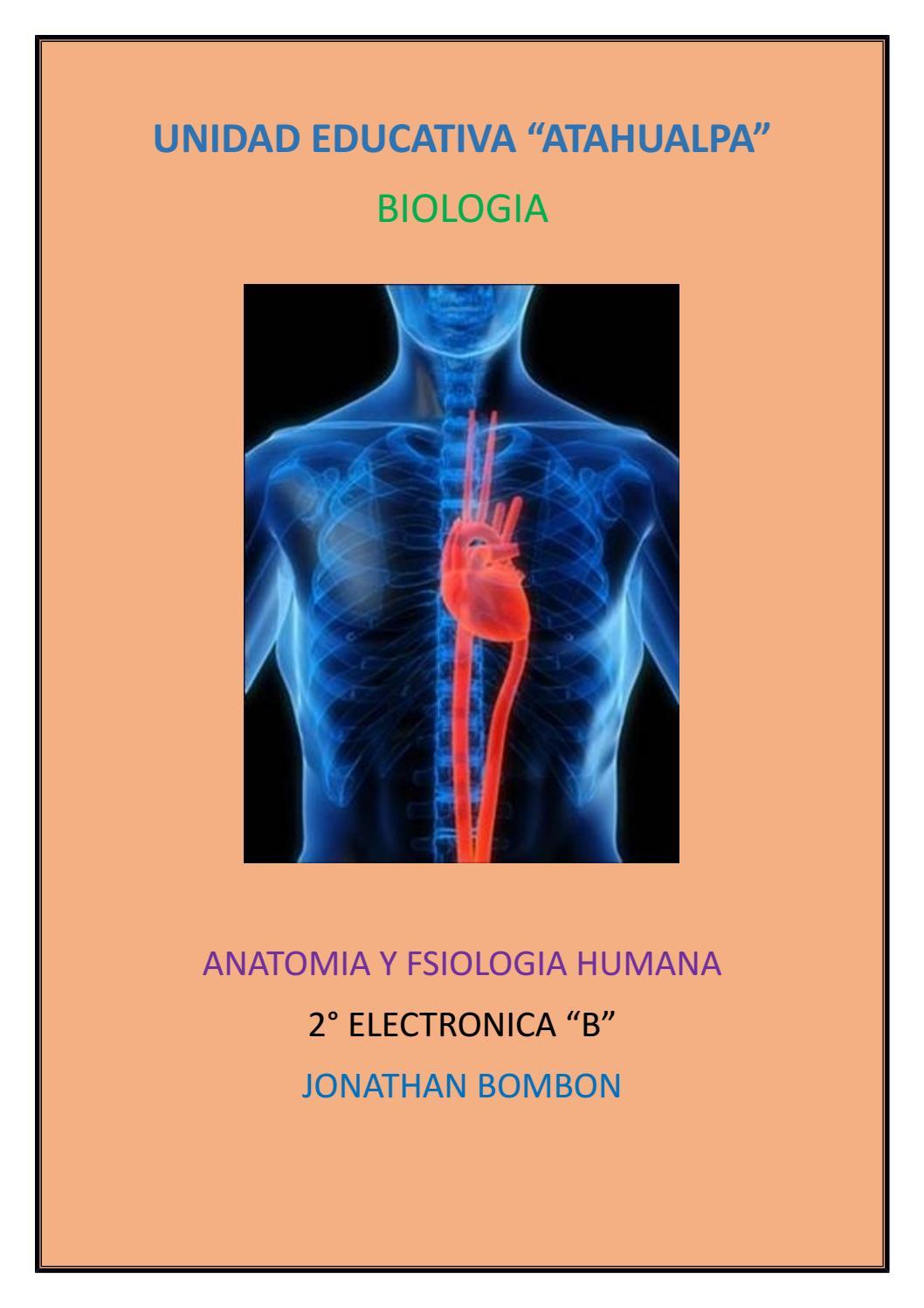 ANATOMÍA Y FISIOLOGÍA HUMANA by JONATHAN BOMBON - issuu
