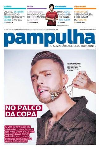 Pampulha - 09 a 15 de junho de 2018 by Tecnologia Sempre Editora - issuu 113dabfb94bf9