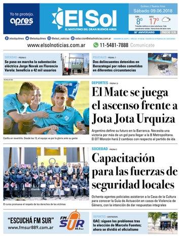 34578c80e9 Diario EL SOL 09-06-2018 by EL SOL URBANA - issuu