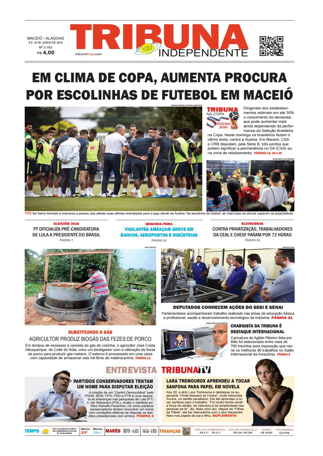 Edição número 3162 – 9 e 10 de junho de 2018 by Tribuna Hoje - issuu acd7a23bab