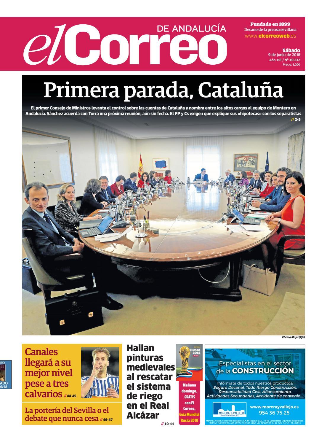 46afa46358 09.06.2018 El Correo de Andalucía by EL CORREO DE ANDALUCÍA S.L. - issuu