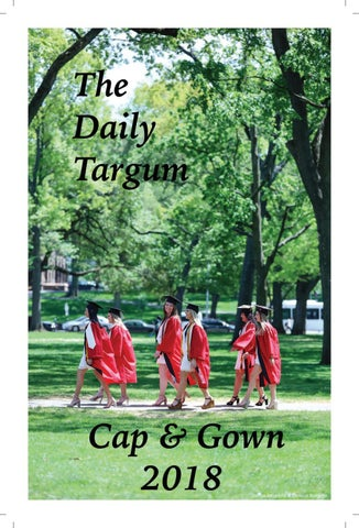 reputable site b6487 c4d63 The Daily Targum  Cap   Gown 2018 by The Daily Targum - issuu