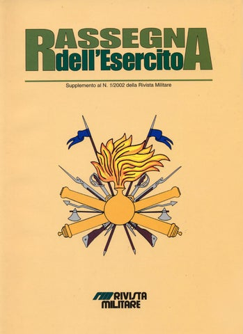 RASSEGNA DELL ESERCITO 2002 N.1 by Biblioteca Militare - issuu b48eed989d99