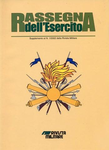 RASSEGNA DELL ESERCITO SUPPLEMENTO AL NUMERO 1 2002 (GENNAIO-FEBBRAIO) DELLA 61b96808bcf