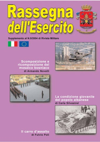RASSEGNA DELL\'ESERCITO 2004 N.5 by Biblioteca Militare - issuu