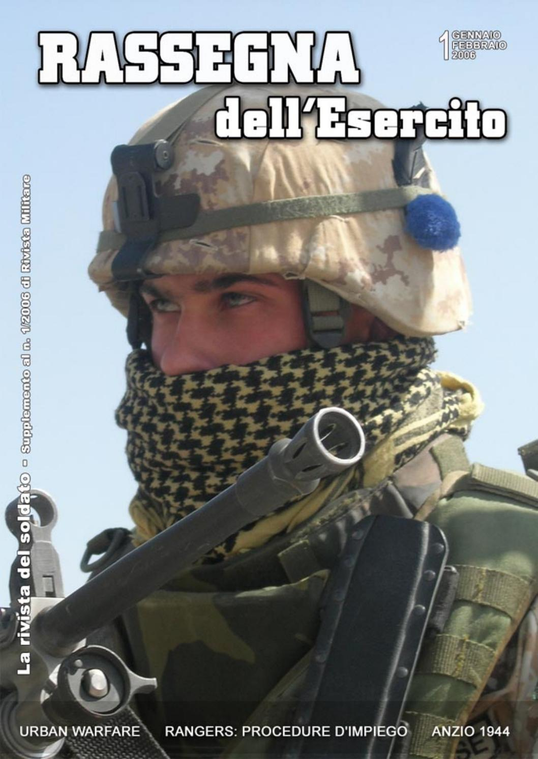 RASSEGNA DELL'ESERCITO 2006 N.1 by Biblioteca Militare issuu
