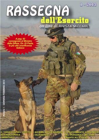 RASSEGNA DELL ESERCITO 2013 N.1 by Biblioteca Militare - issuu ee6ddb1d2d3e