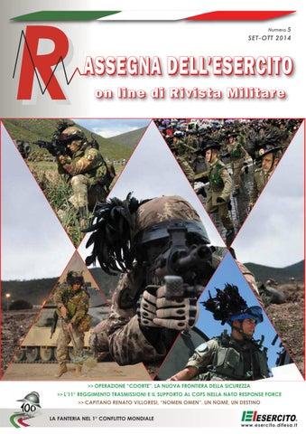 RASSEGNA DELL\'ESERCITO 2014 N.5 by Biblioteca Militare - issuu