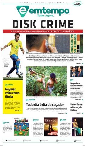 Emtempo 10 de junho de 2018 by Amazonas Em Tempo - issuu 4e46b28100e8a