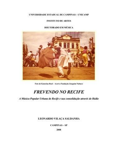 6681a3c7d04 Frevendo no Recife - A Música Popular Urbana do Recife e sua ...