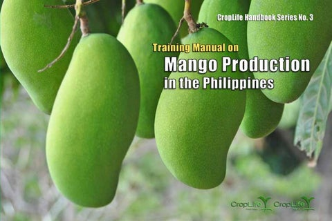 Training Manual on Mango Production in the Philippines by CropLife