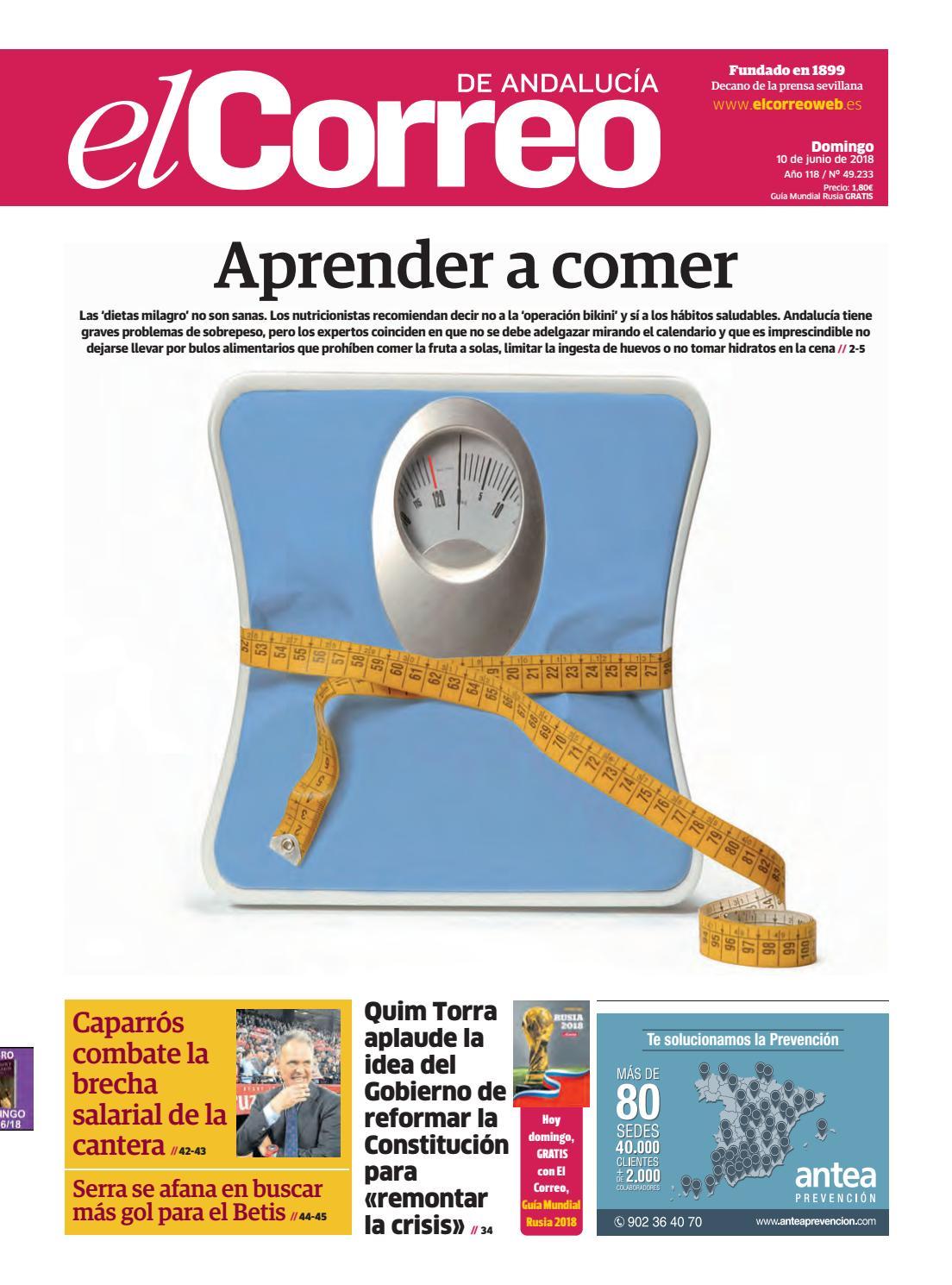 eb4496848e 10.06.2018 El Correo de Andalucía by EL CORREO DE ANDALUCÍA S.L. - issuu