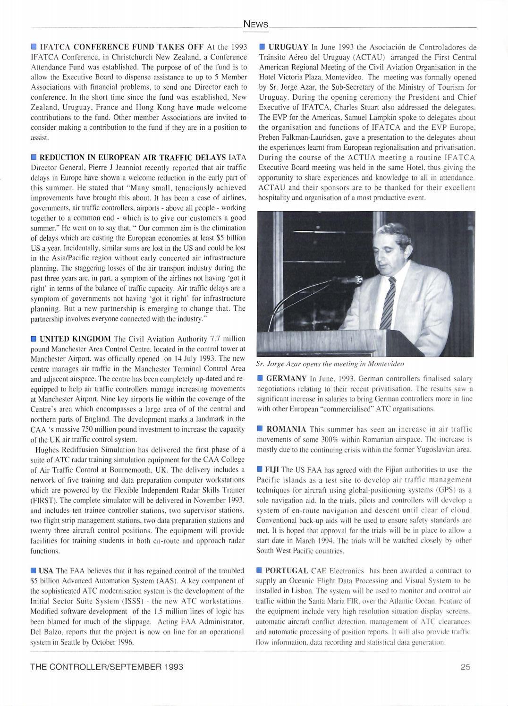 IFATCA The Controller - 3rd quarter 1993 by IFATCA - issuu