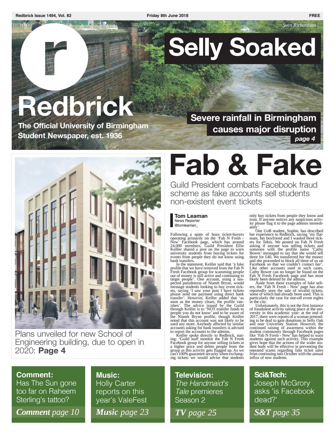 fc4bdd40dfe Issue 1494 by Redbrick - issuu