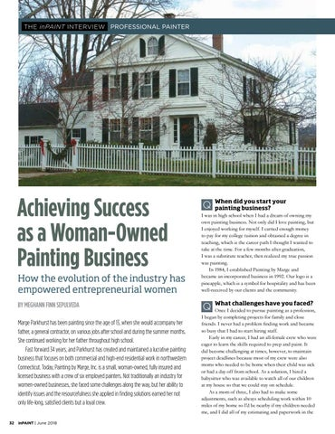 Page 32 of Woman-owned painting business owner shares challenges and successes