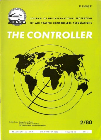 IFATCA The Controller - 2nd Quarter 1980 by IFATCA - issuu