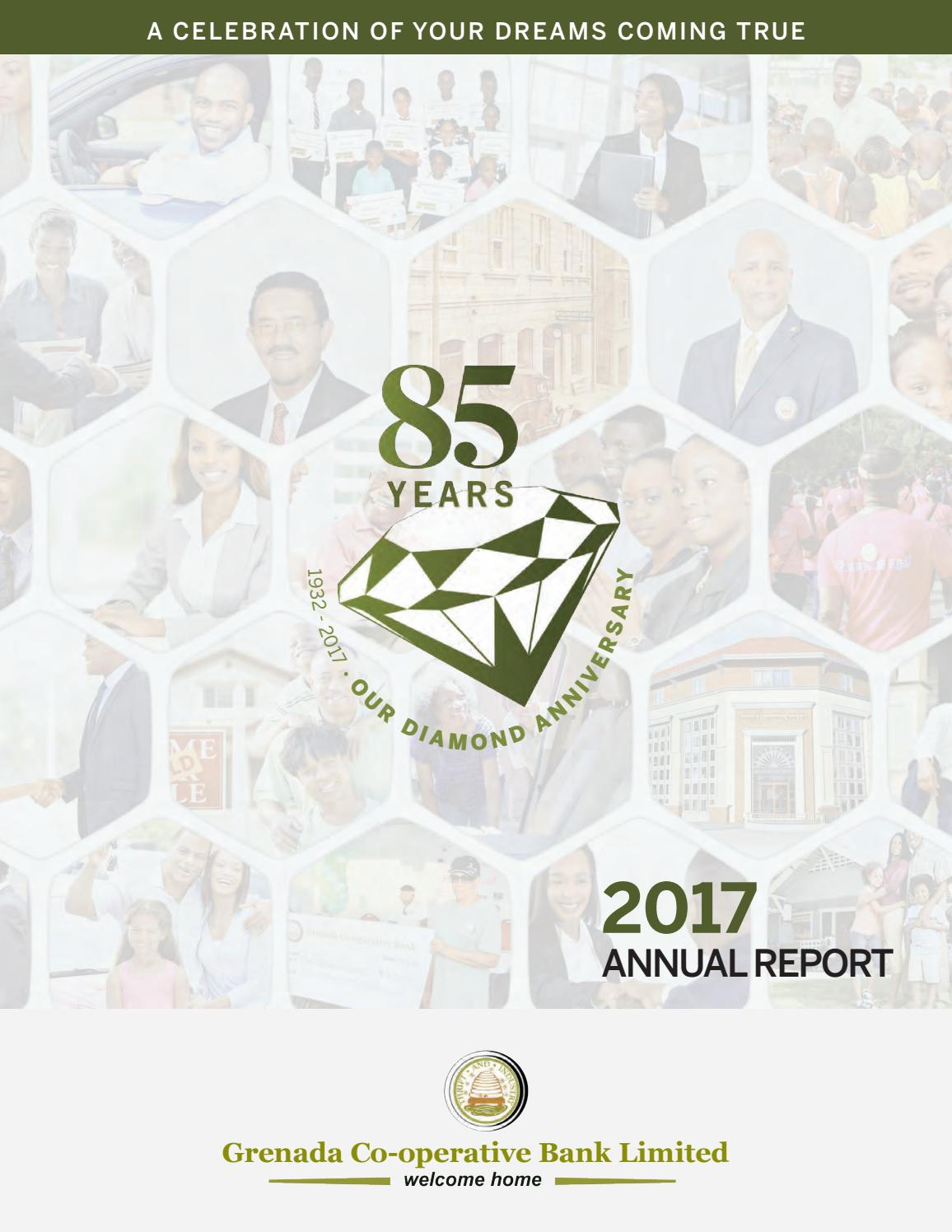 2017 grenada cooperative bank annual report by Innovative