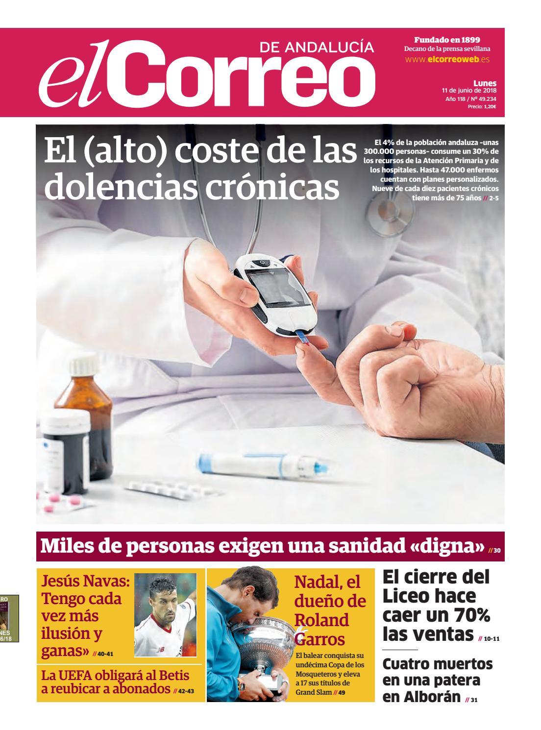 47eb6a96b1eb 11.06.2018 El Correo de Andalucía by EL CORREO DE ANDALUCÍA S.L. - issuu