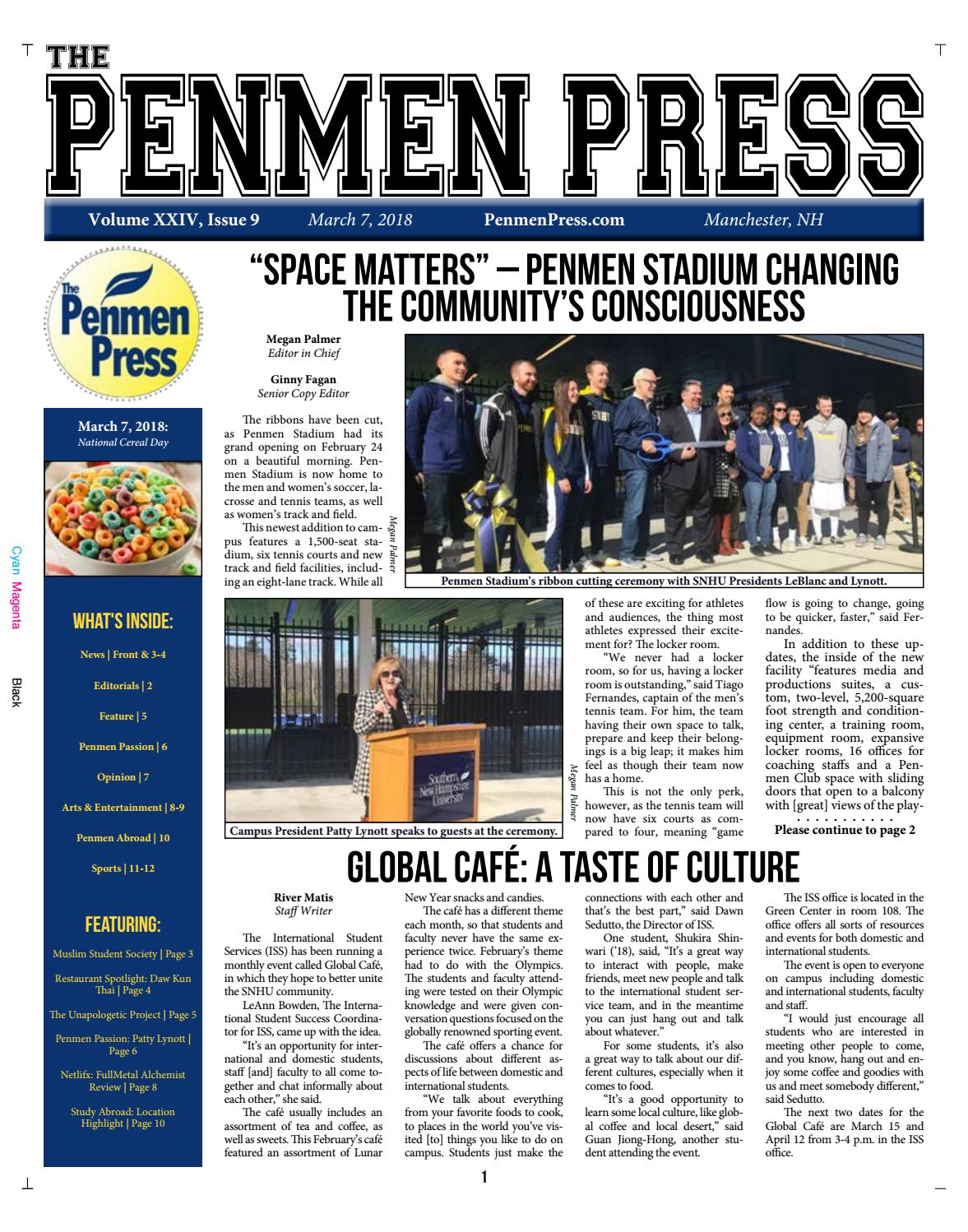 Issue 9 (SP18) by Penmen Press - issuu