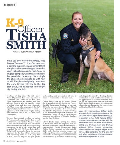 Page 16 of K-9 Officer Tisha Smith