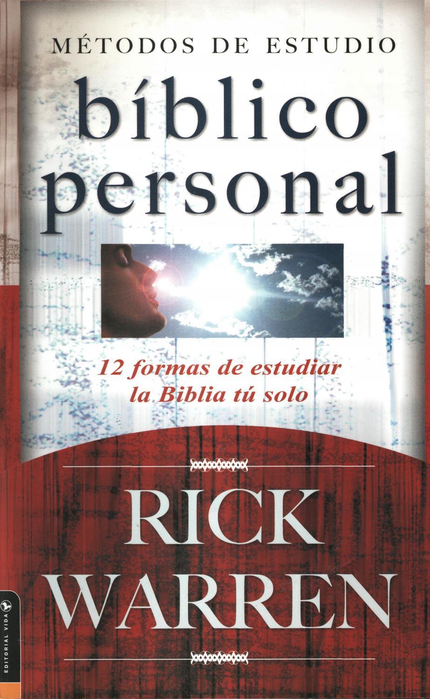 Rick warren metodos de estudio biblico personal v 2 0 by