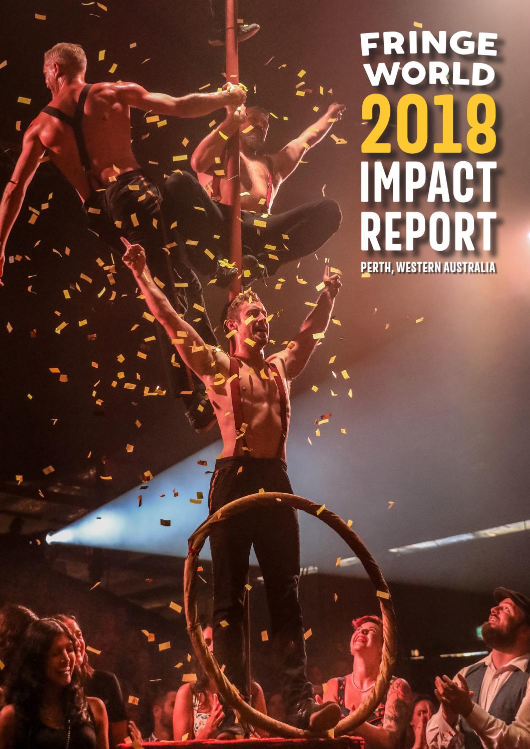 FRINGE WORLD Festival 2018 Impact Report by Fringe World