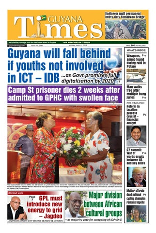 Guyanatimes 11 June 2018