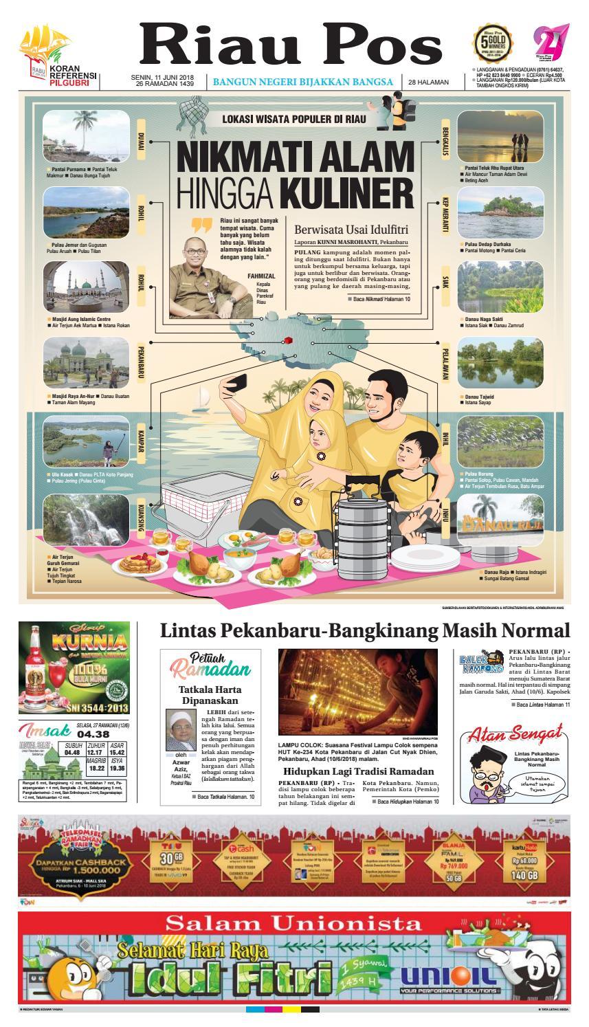 2018 06 11 By Riau Pos Issuu