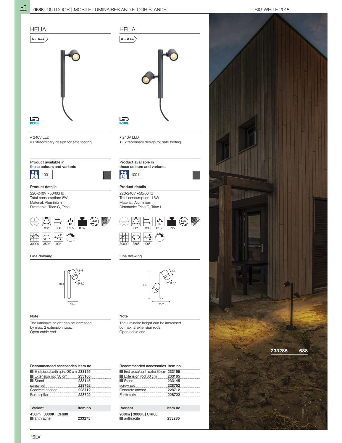 Outdoor Pole 5000 Kelvin Retrofit Kit LED Light 65 Watt Roadway Luminaires
