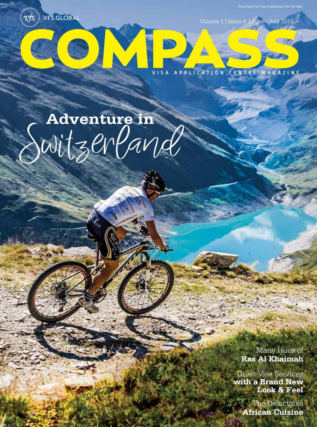 VFS Global COMPASS (India Edition) June-July 2018 by