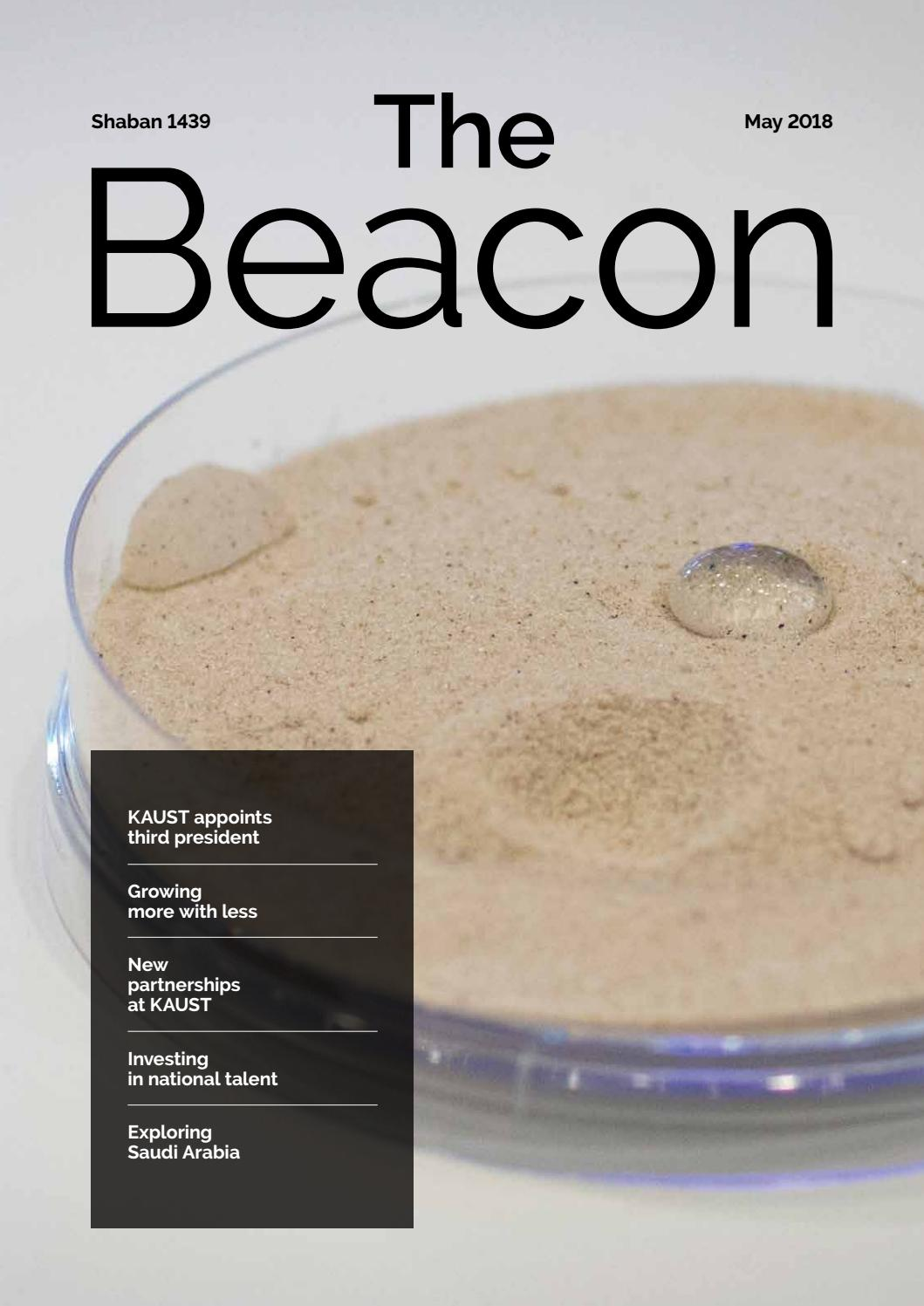 2018 May Beacon By Kaust Issuu