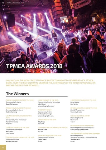 Page 18 of TPMEA Awards 2018