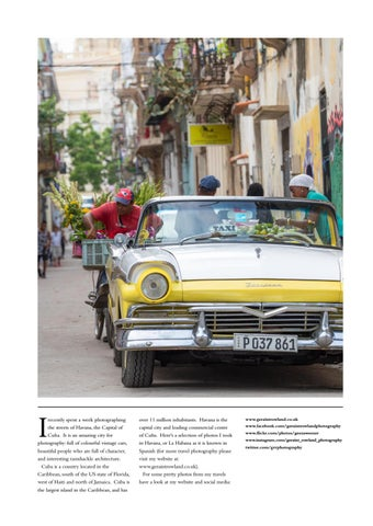 Page 115 of Photojournal:  Streets of Havana