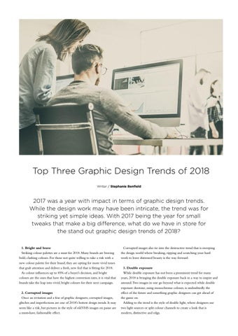 Page 53 of Top Three Graphic Design Trends of 2018