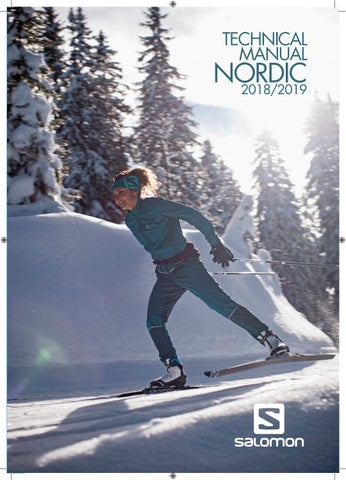 Salomon Nordic Tech Manual 201819 By Salomon Issuu